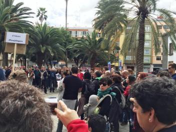 Manifestación Pasaje Seguro (1)