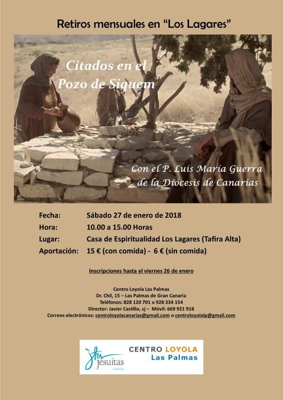 Retiro Enero 2018 - Los Lagares