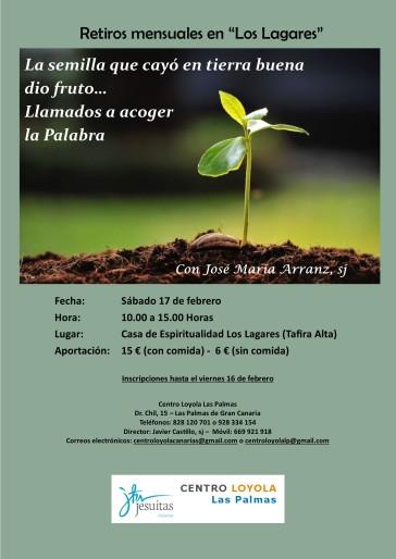 Retiro febrero 2018 - Los Lagares