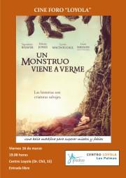 Cine Foro - Un monstruo viene a verme