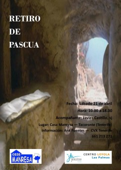 Retiro de Pascua - Casa Manresa 2018
