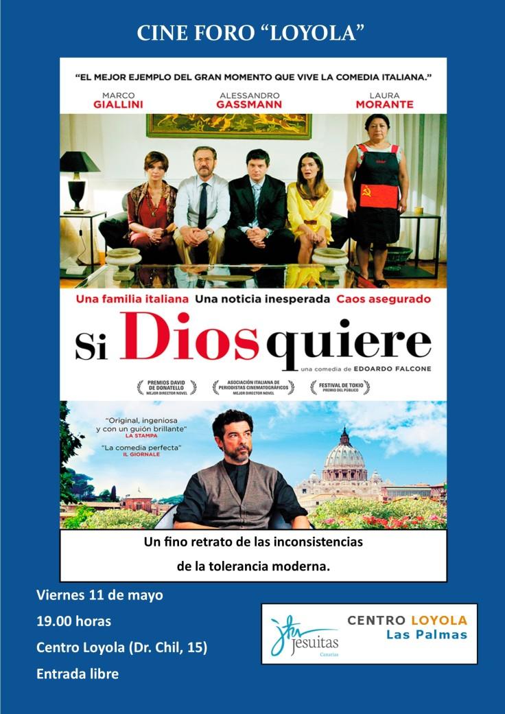 Cine Foro - Si Dios quiere