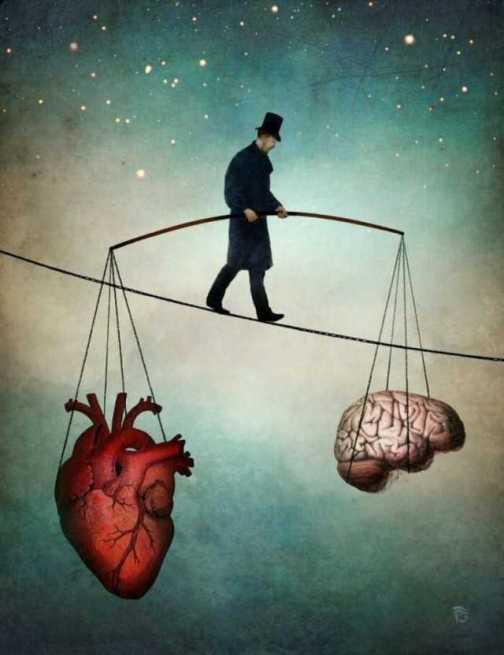 Equlibrio cabeza-corazón