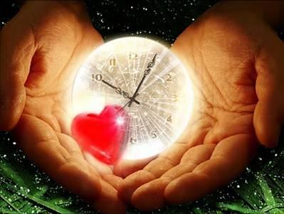 Reloj de corazón